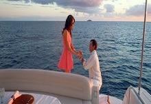 Teknede Evlenme Teklifi